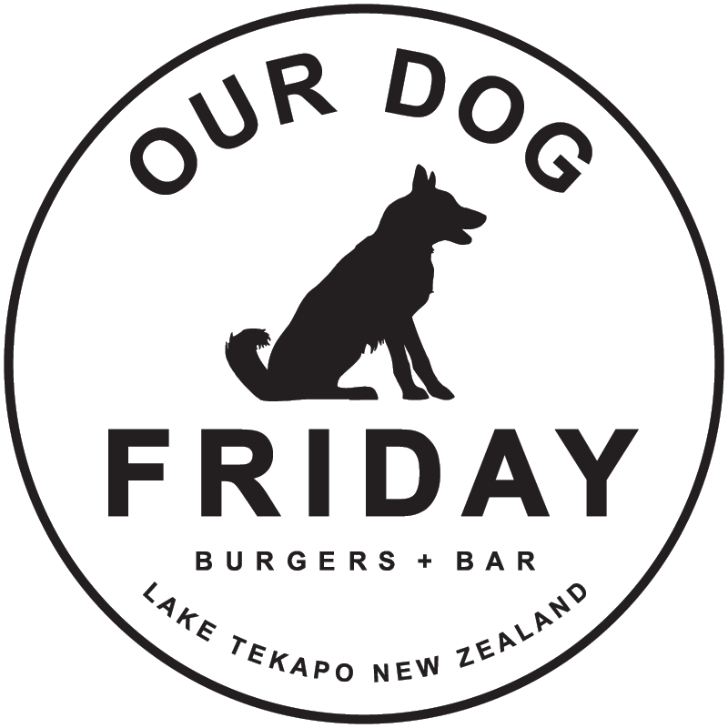 Our Dog Friday burger bar, Lake Tekapo