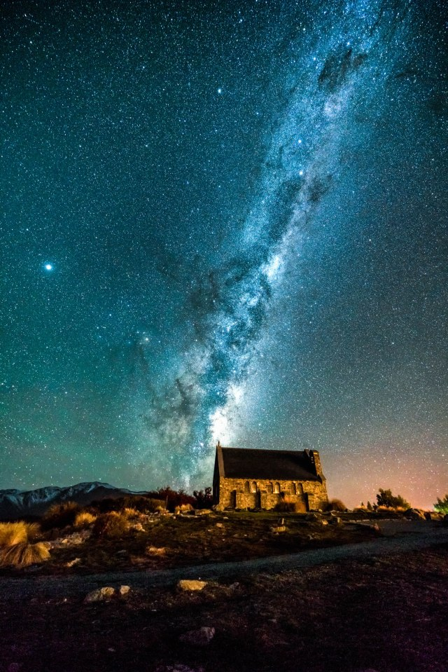 Church of the Good Shepherd astro photography by Xiaobei Han